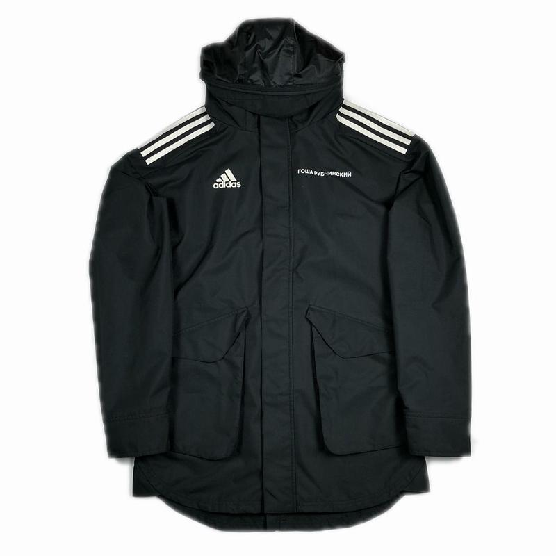 Gosha Rubchinskiy adidas Hooded Nylon Jacket Black S 17AW 【中古】