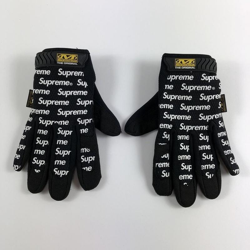 Supreme Mechanix Original Work Gloves Black M 17SS 【中古】