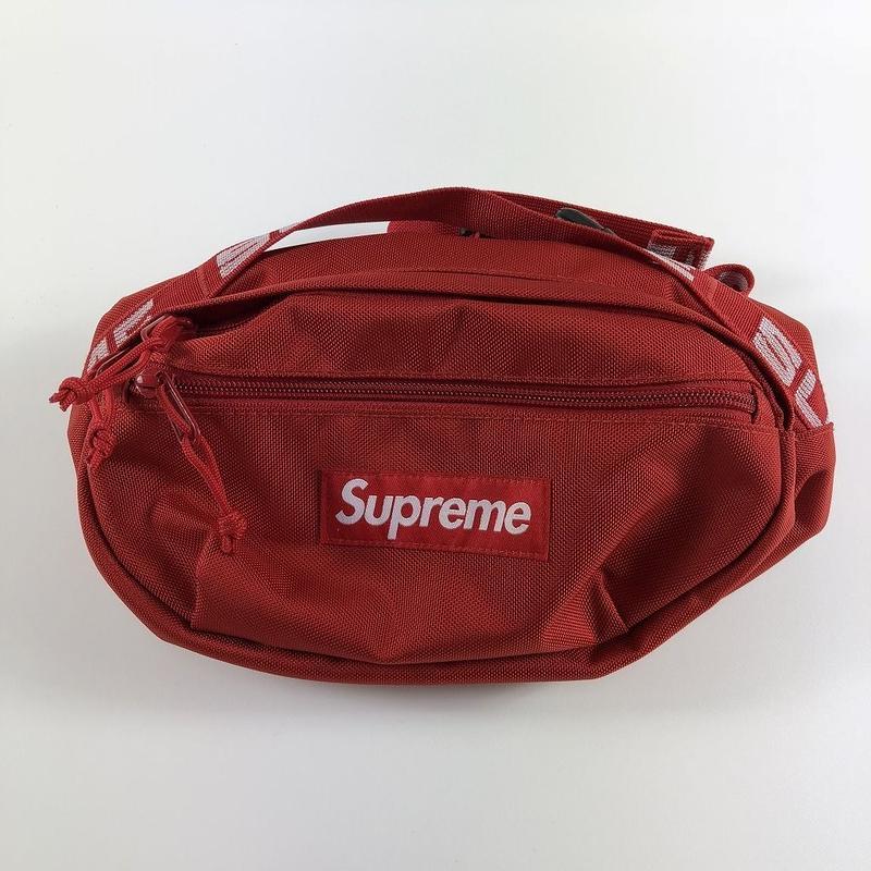 Supreme Waist Bag Red 18SS 【中古】