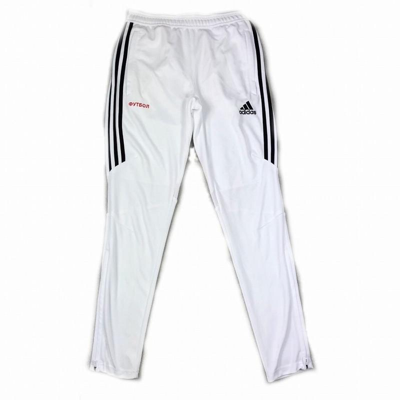 Gosha Rubchinskiy adidas Track Pants White S 17AW 【中古】