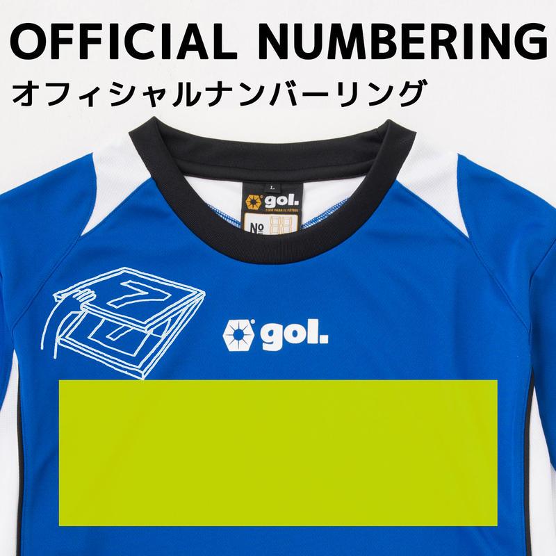 【シャツ前面】胸マーク(30cm)プリント