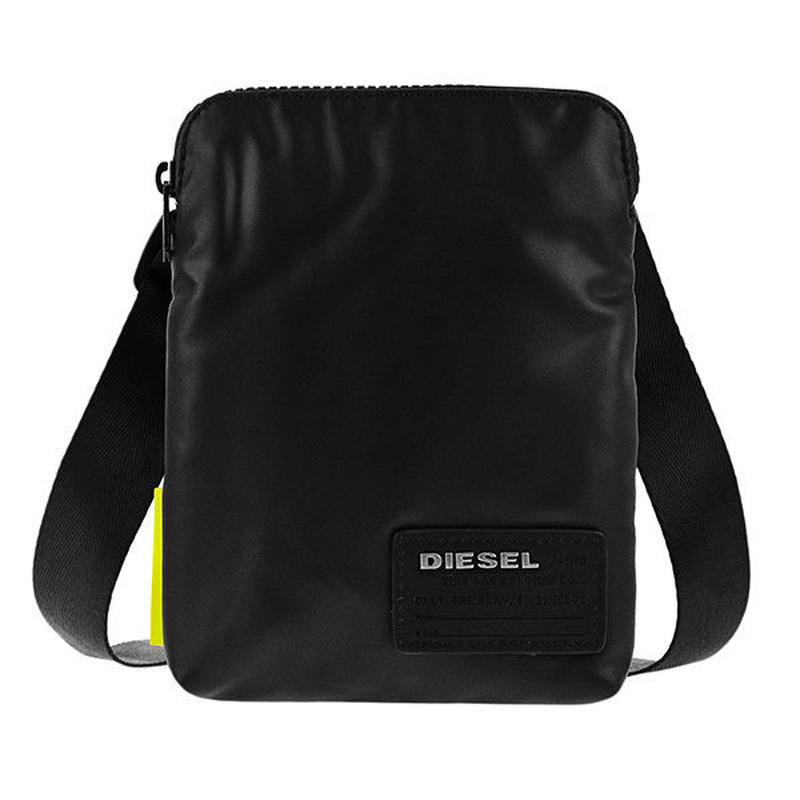 ディーゼル DIESEL メンズ ショルダーバッグ X04815-P1157-T8013 ブラック 送料無料