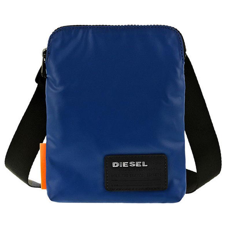 ディーゼル DIESEL メンズ ショルダーバッグ X04815-P1157-T6050 ブルー 送料無料