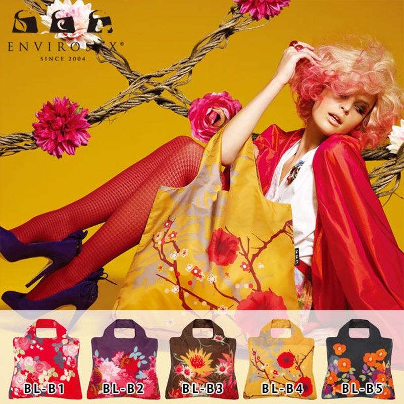 エンビロサックス[ENVIROSAX] ブランドエコバッグ Eco-friendly bag 【ブルーム[bloom]】