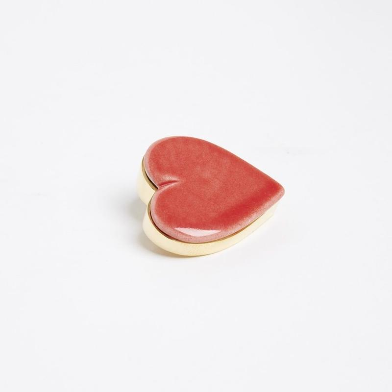 【ANDRESGALLARDO】 HEART PIN