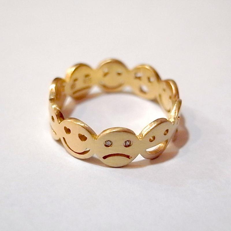 【KOMI】10 smiles ring Lサイズ