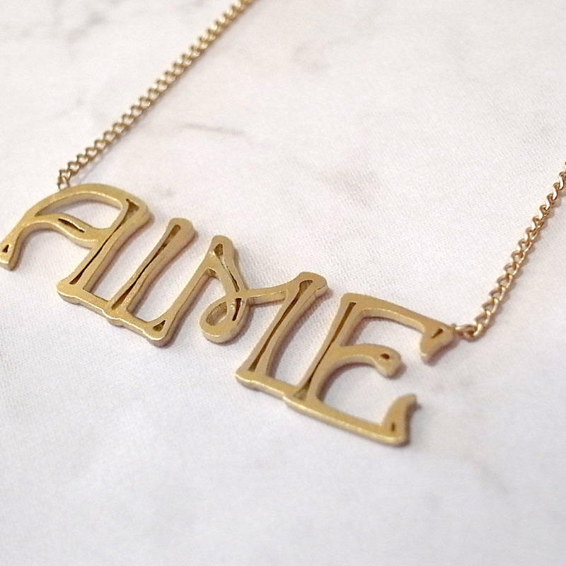 【AIME】 AIME ネームネックレス