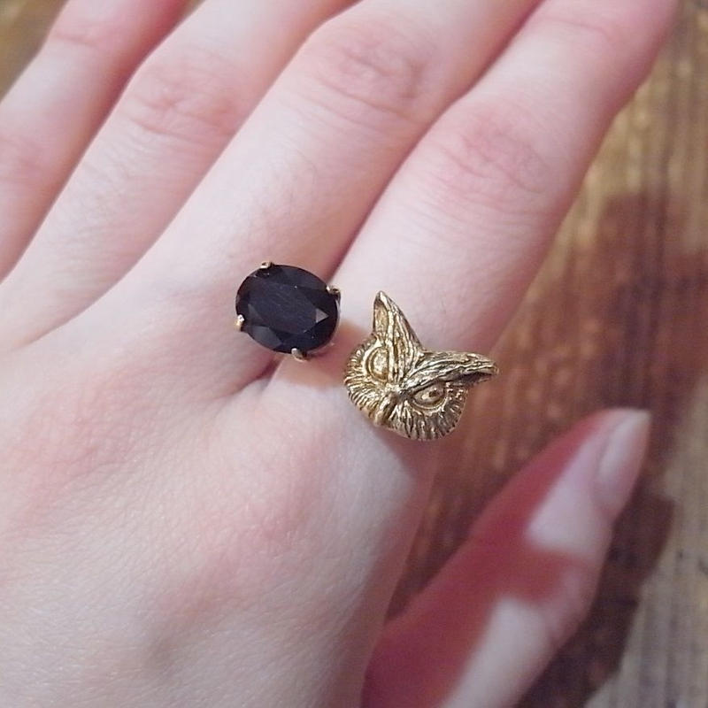 【CULOYON】 DUO RING -OWL-