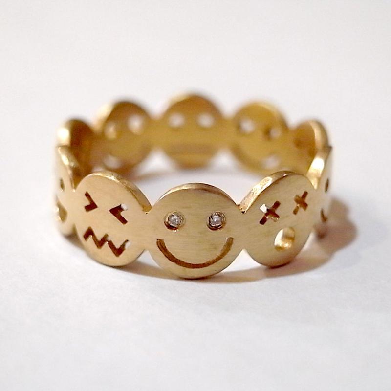 【KOMI】10 smiles ring  Mサイズ