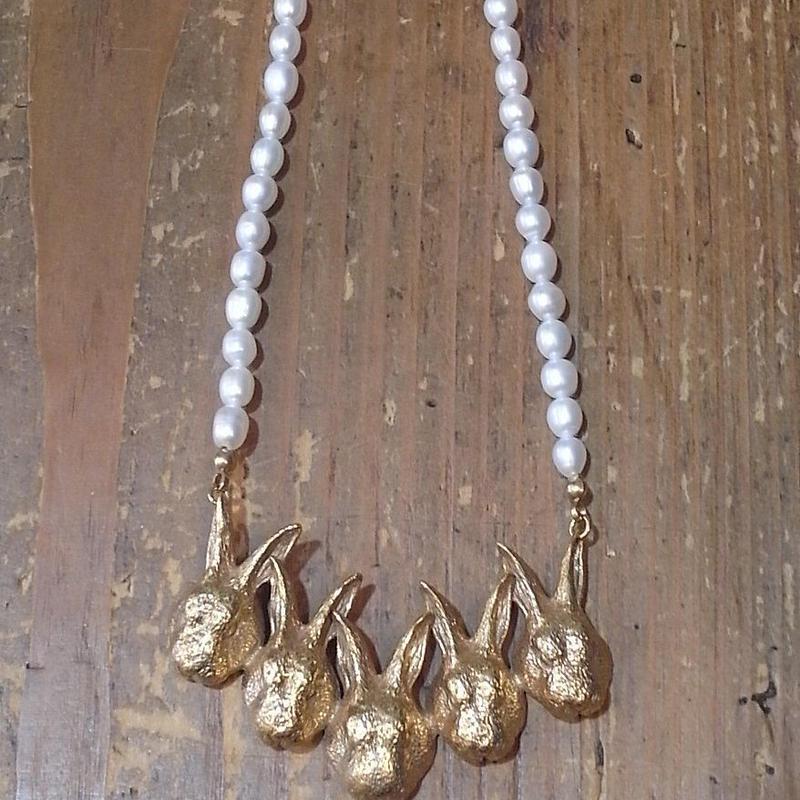 【CULOYON】 Les 5 lapins ネックレス