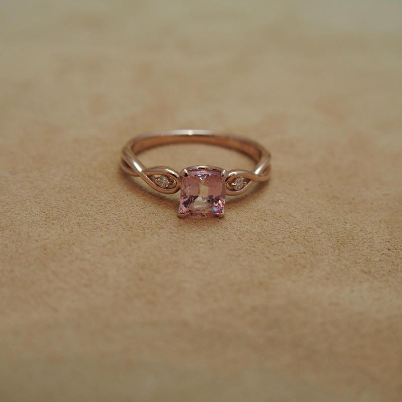 Pink Tanzanite Ring(Pink Zoisite)