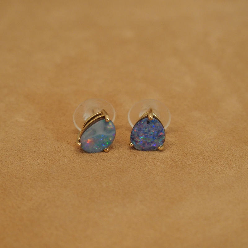 Opal Natural Gems Earrings