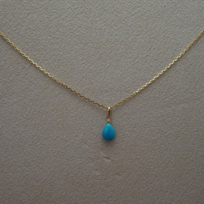 Turquoise Pendant Top(p/s)