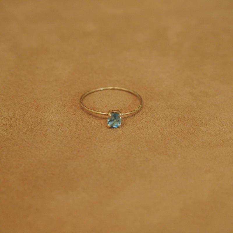 Aquamarine Petit Ring(o/v)