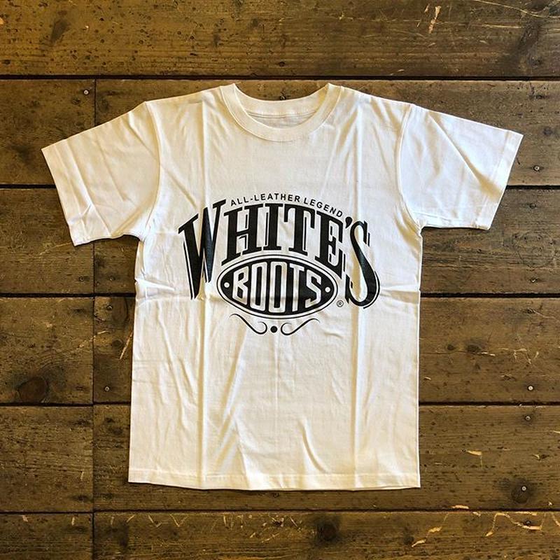 WHITES / LOGO TEE