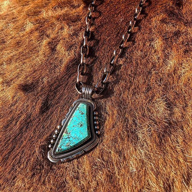 WILL VANDEVER / King man Turquoise top