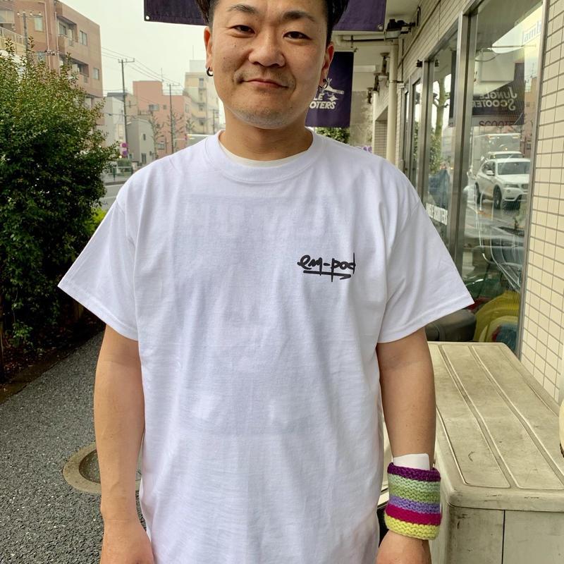 em-pod Tシャツ 白
