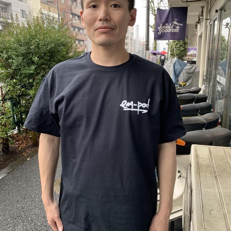 em-pod Tシャツ 黒
