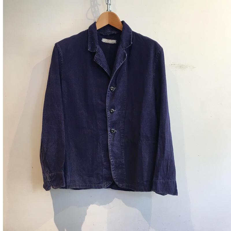 """50's British Workwear  """"HOLDFAST"""" Change Button  Work Jacket"""