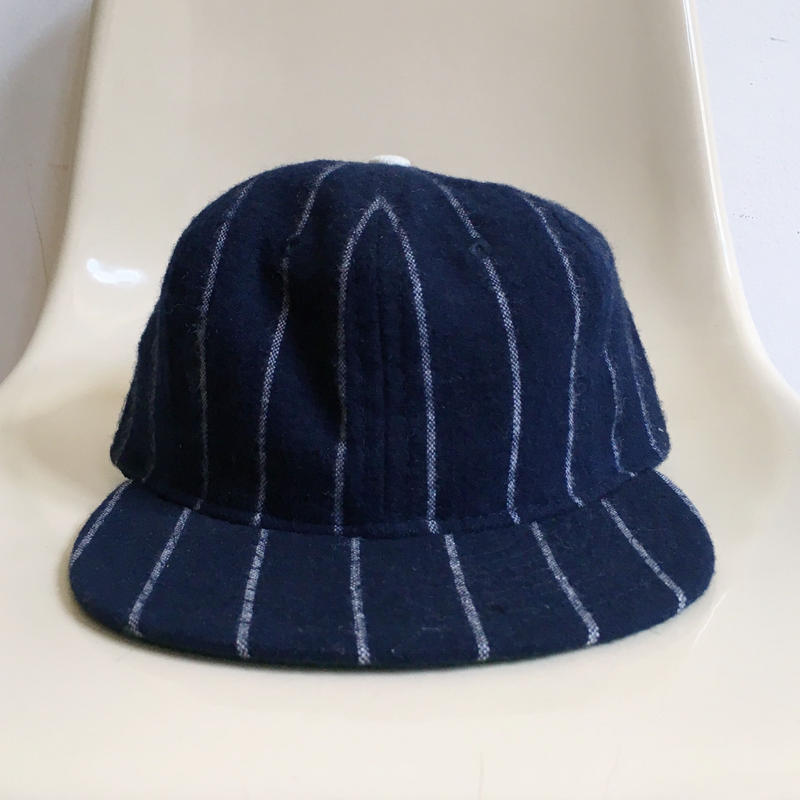 "Cooperstown ""Brooklyn Style"" Baseball Cap  Navy×White"