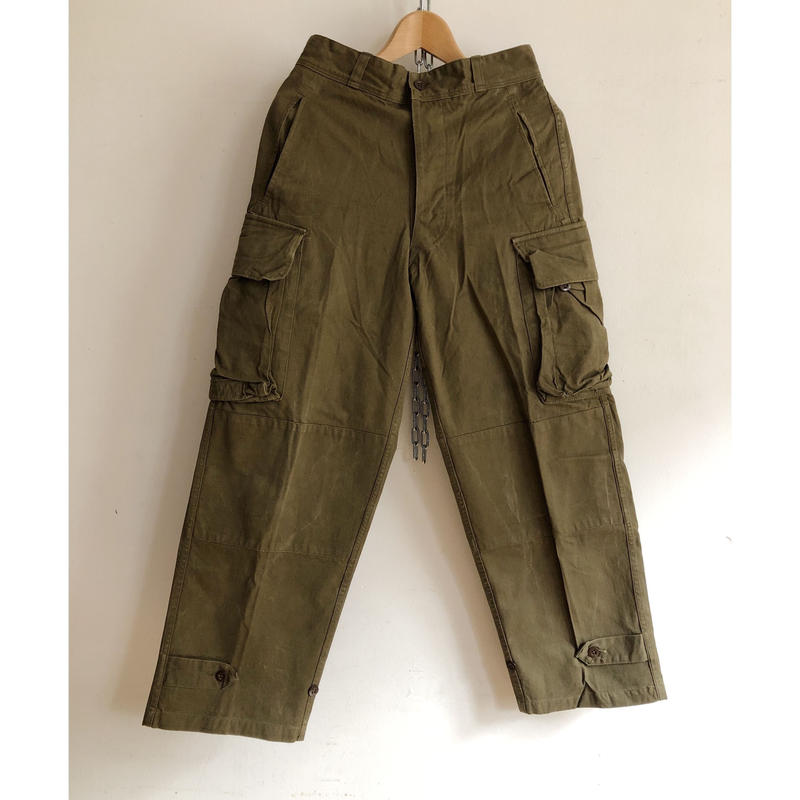 "60's French Army M47 Field Trousers ""21"""
