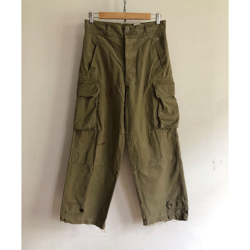 """Later 50's French Army M47 Field Trousers. """"31"""""""