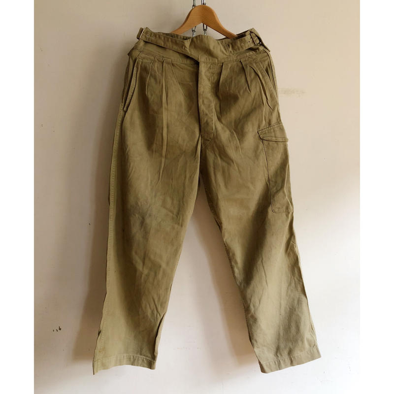 "50's〜60's Royal Australian Army Issue ""Gurkha"" Trousers/3"