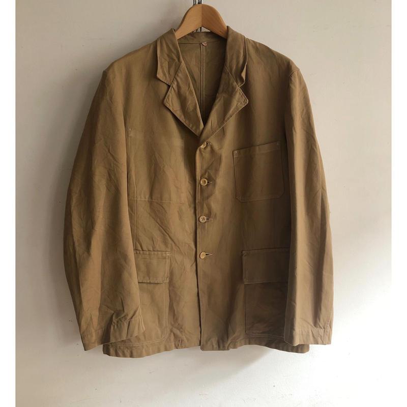 50's Brirish Lapel Workwear Good Condition