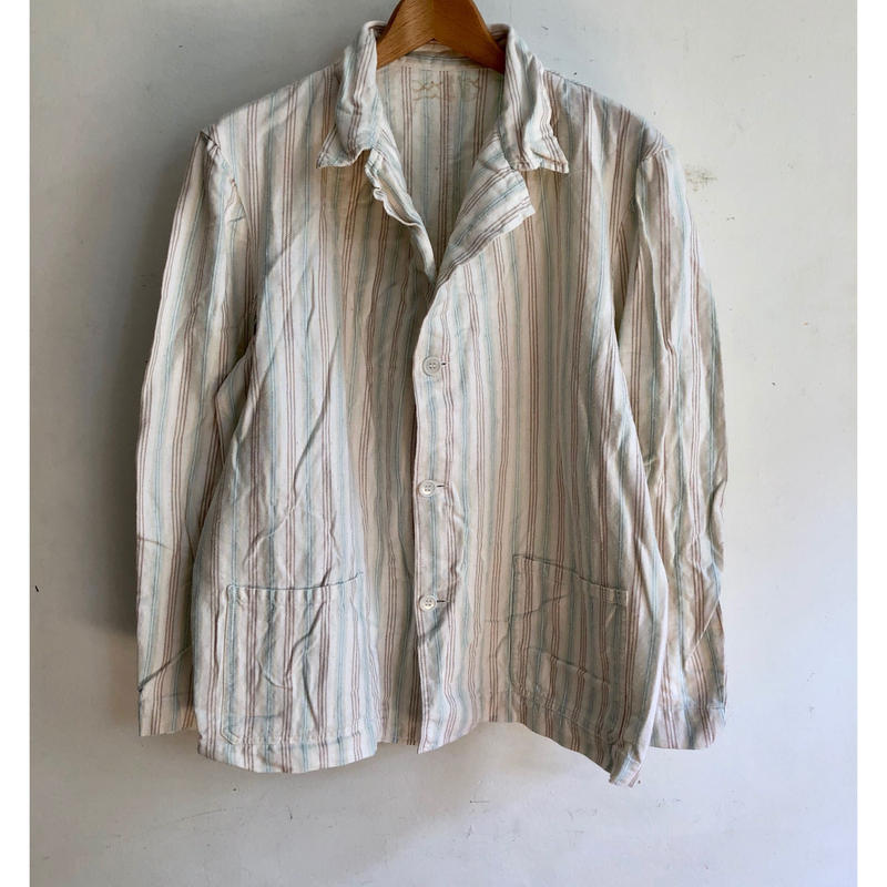 60's British Prisoner Pajama Jacket Good Condition