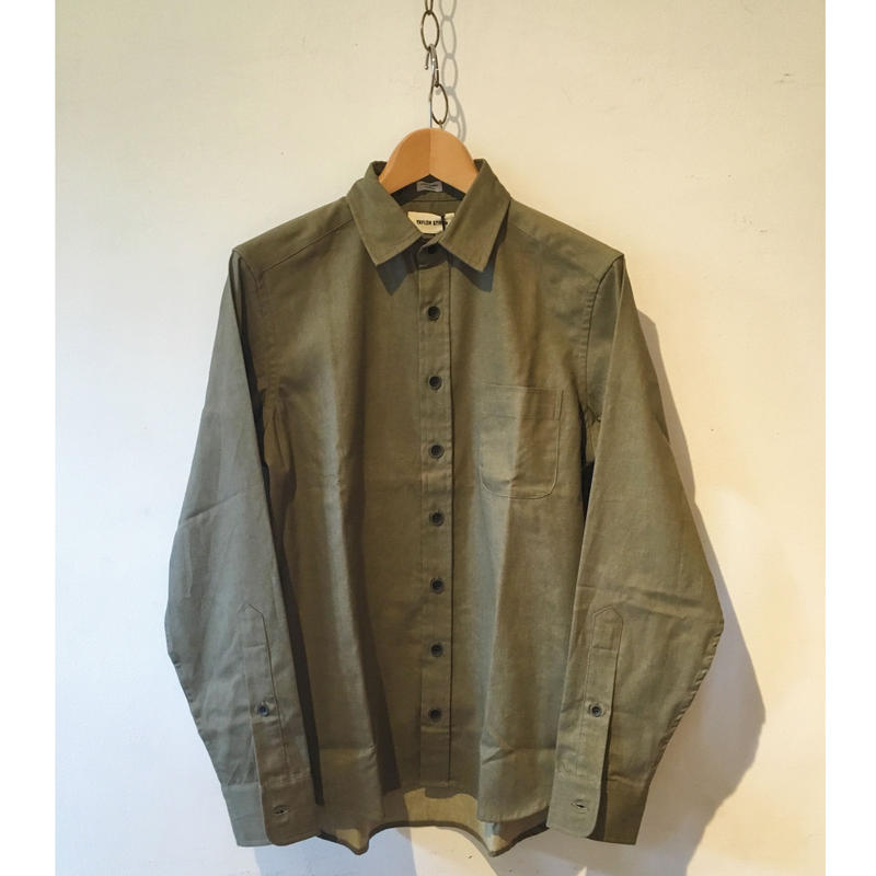 Taylor Stitch Mechanic Shirt OLIVE