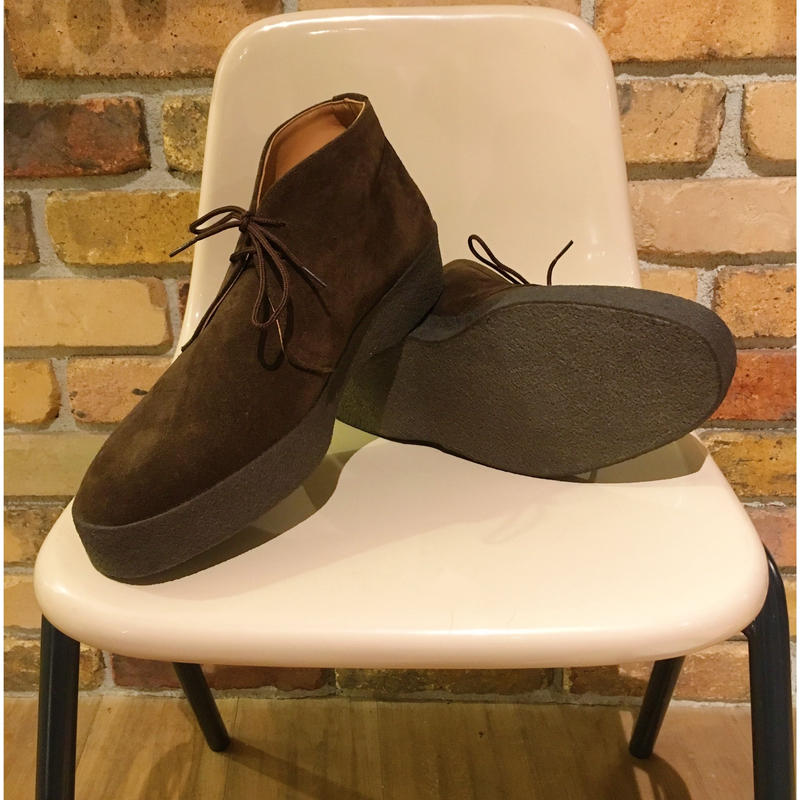 SANDERS Brit Chukka BROWN