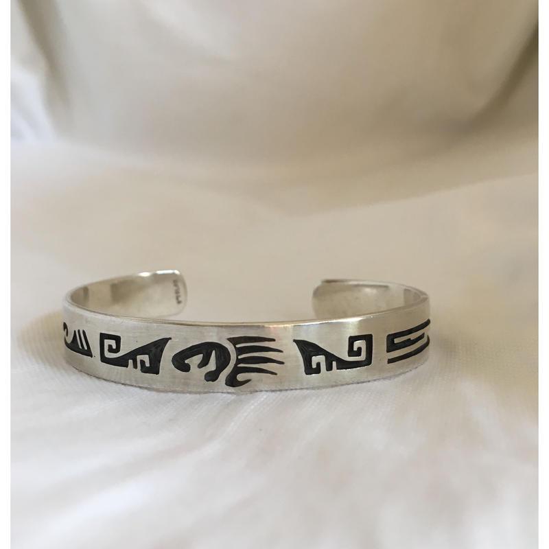 Indian Jewelry Hopi Bear Paw