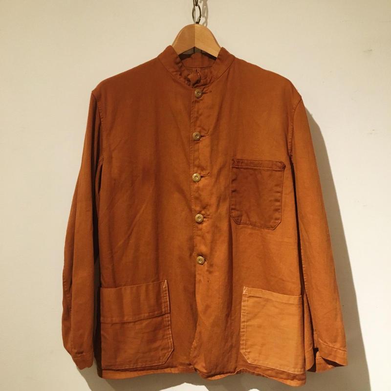 40's〜50's British Stand Collar Work Jacket