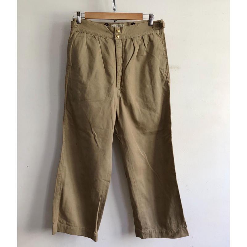 1952 Royal Australian Army  Studs Chino Trousers/1