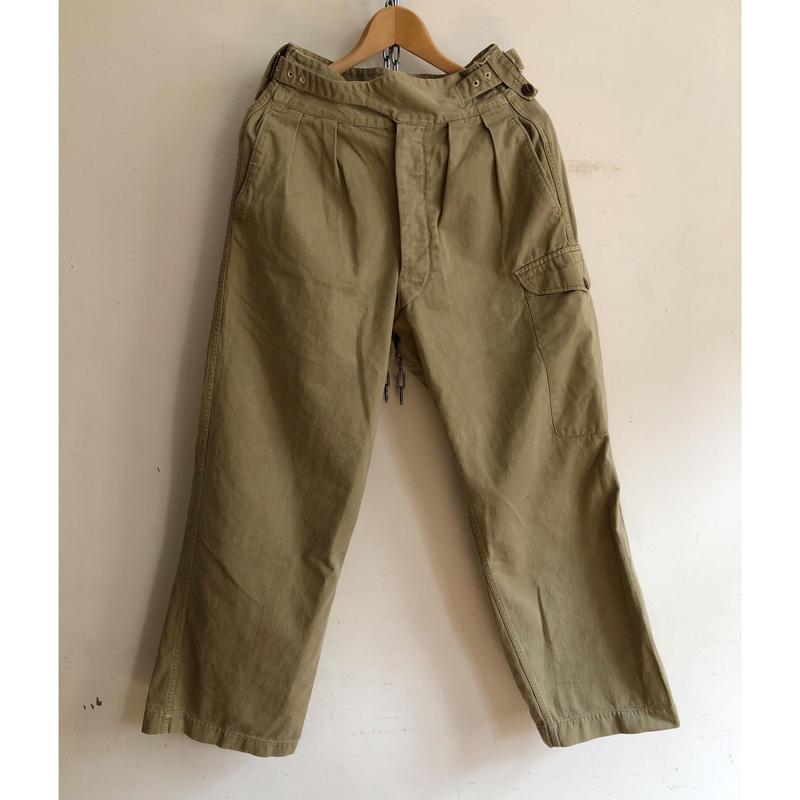 40's〜50's Royal Australian Army Gurukha Trousers/3