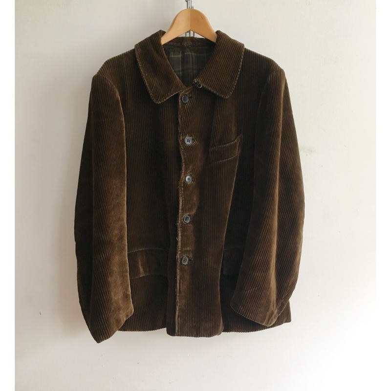 "40's〜50's Heavy Corduroy French ""Farmer's"" Jacket"