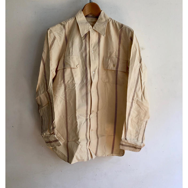 70's Italy Prisoner Shirt Dead Stock