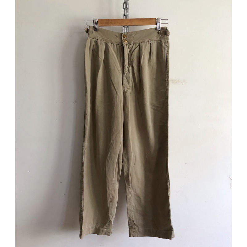 1952 Royal Australian Army Studs Chino Trousers/8
