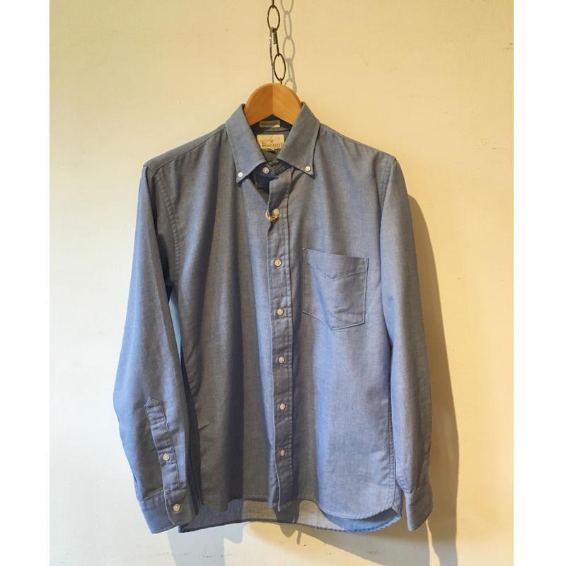 J wing field Cotton Twill B.D Shirt