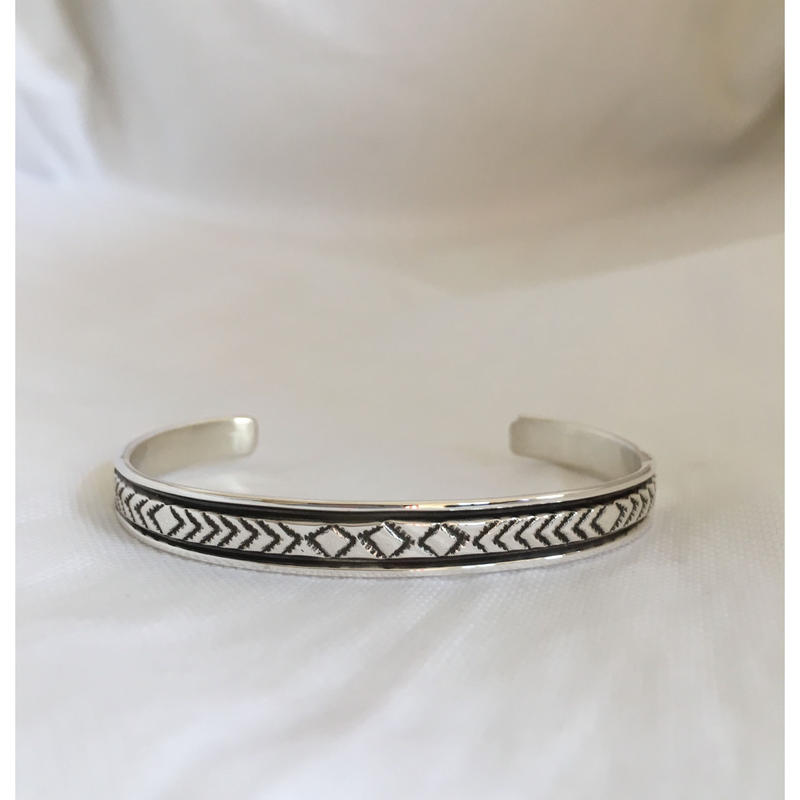 """Indian Jewelry Navajo Made by """"BRUCE MORGAN"""" #1"""