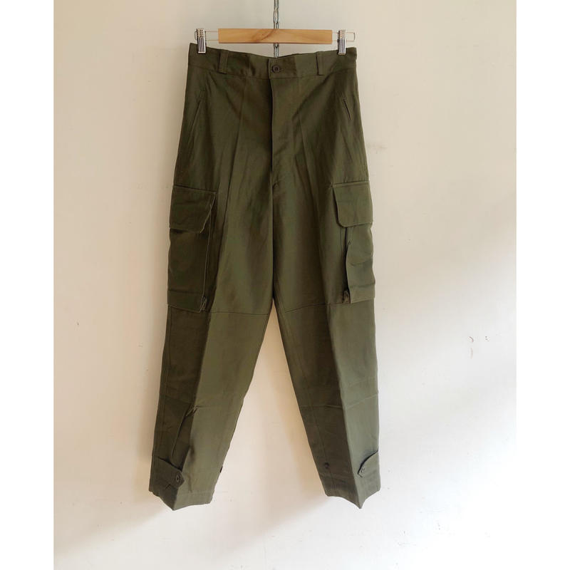 "60's French Army M47 Field Trousers Dead Stock ""21"""