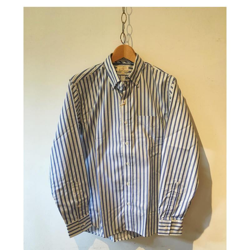 J wing field BARBER Stripe Shirt