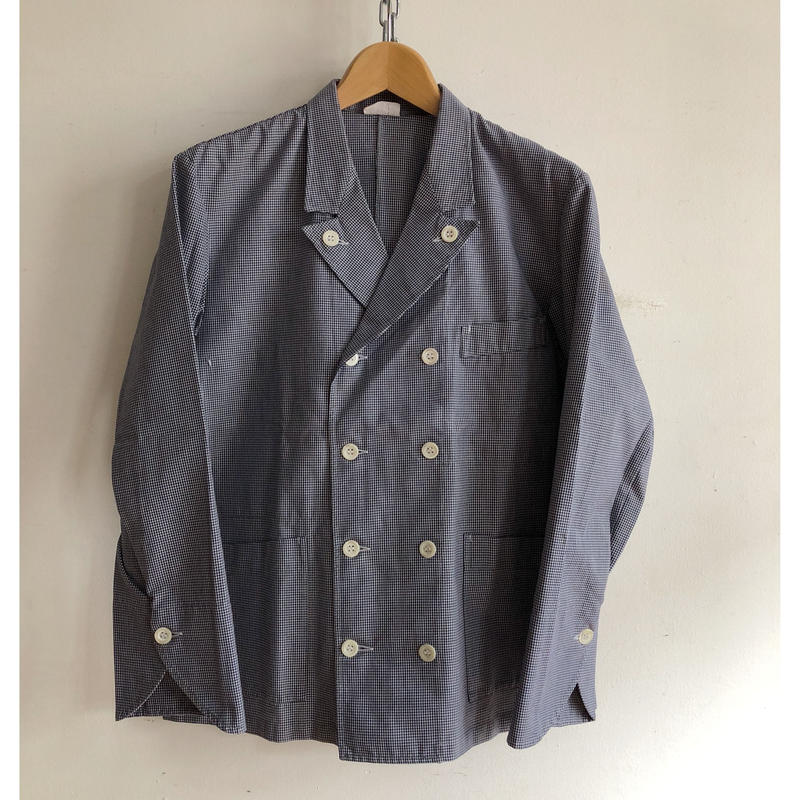 "50's Double Breasted ""Butcher Jacket"" Mint Condition"