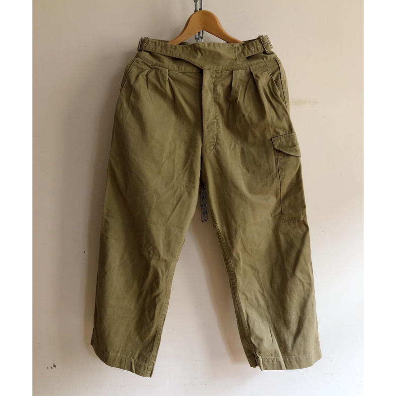 "50's〜60's Royal Australian Army Issue ""Gurukha"" Trousers/1"