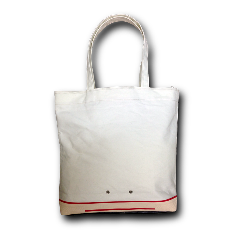 """ FOOTLOOSE TOTE "" color: WHITE"