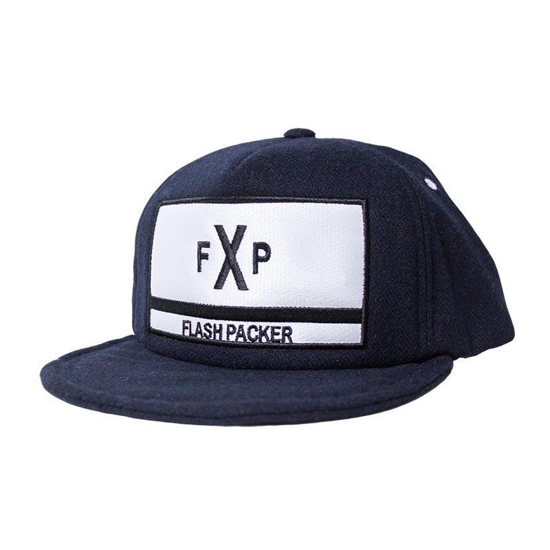 XWC-EXP NAVY(ウールキャップ)