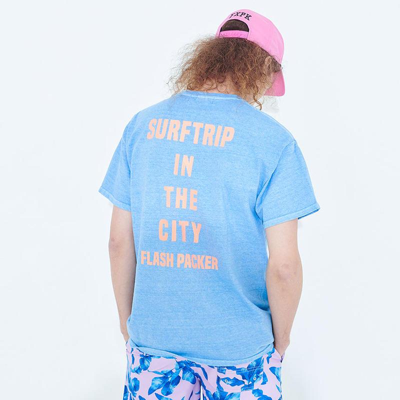 XT-HOLA ピグメントTシャツ
