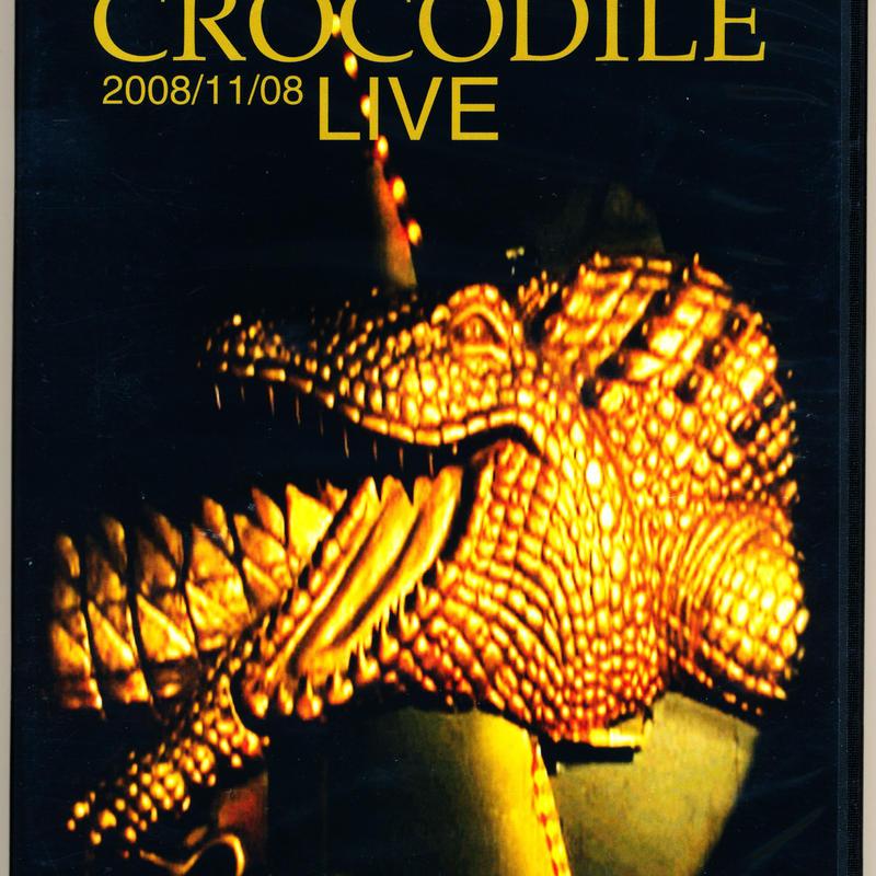 山口冨士夫  at CROCODILE LIVE 2008/11/08 (DVD)