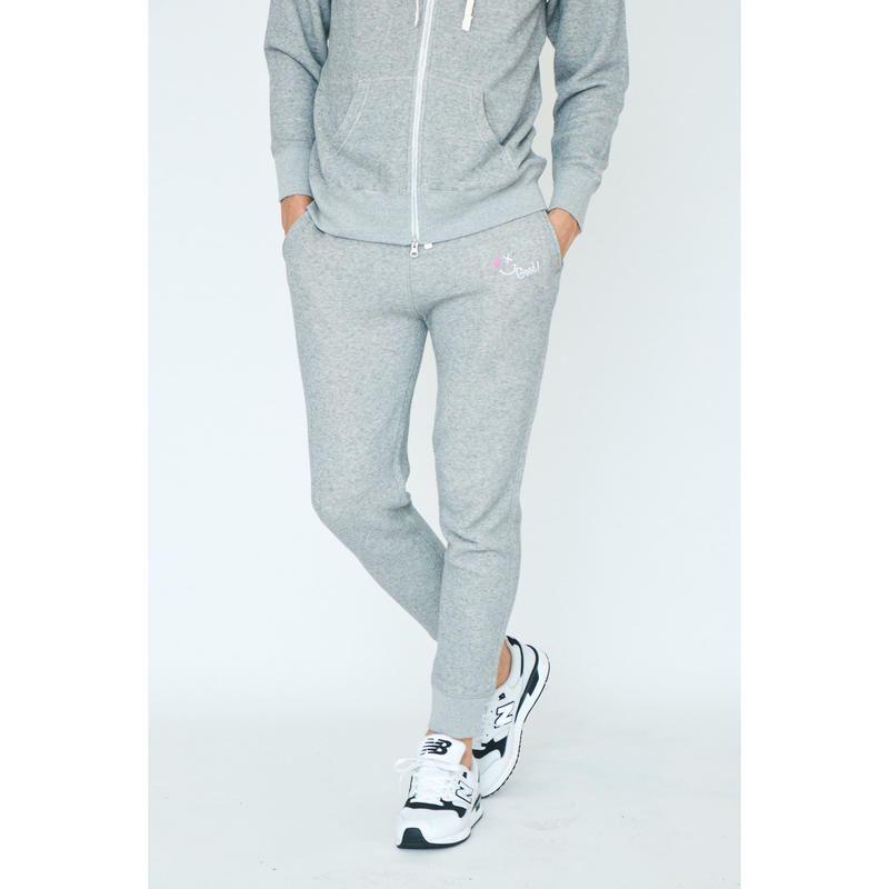 SMILE GOOD SWEAT PANTS / GREY GDB-001
