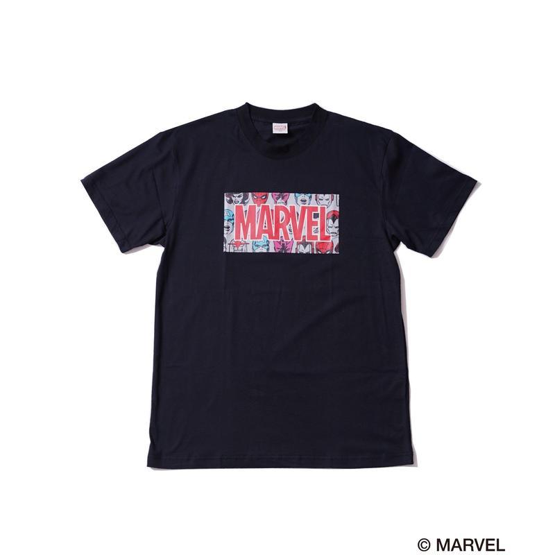 MARVEL BOXLOGO T / GDS-RMV001  BLACK